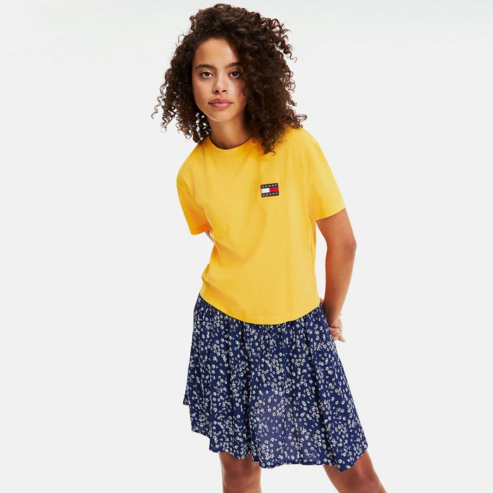 Tommy Jeans Badge Boyfriend Fit Women's T-Shirt (9000046837_35895)