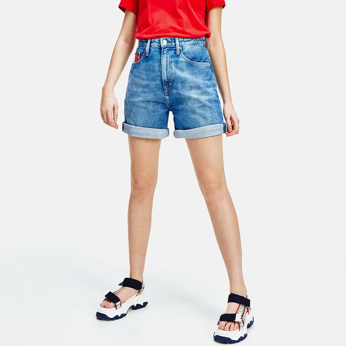Tommy Jeans Mom Fit High Rise Denim Women'S Shorts (9000051027_45101)
