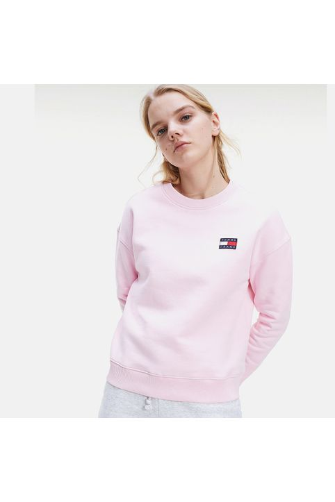 Tommy Jeans Badge Crew Γυναικείο Sweatshirt (9000065131_41760)