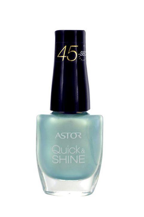 Astor Quick & Shine Nail Polish 8ml 601 Alluring Blue