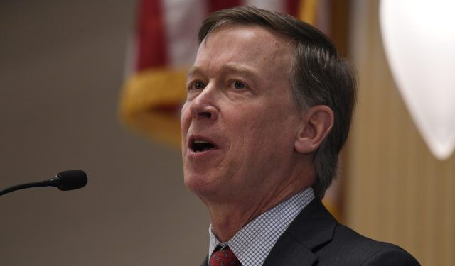 Hickenlooper: It's unclear whether Trump could stop legal marijuana