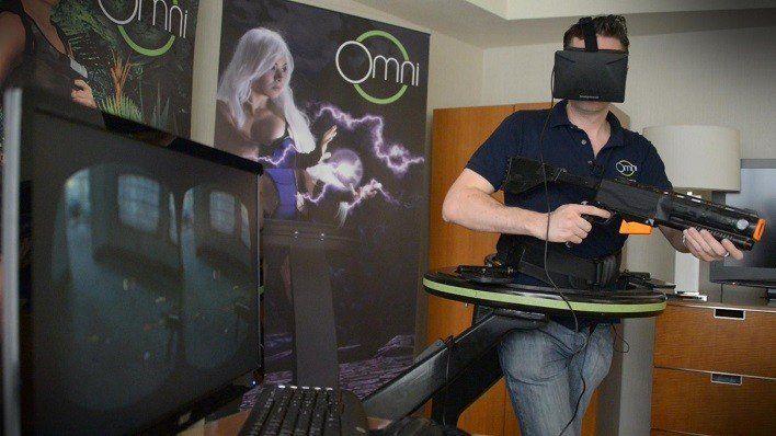 La Realidad Virtual se vuelve más espectacular e inmersiva con Virtuix Omni