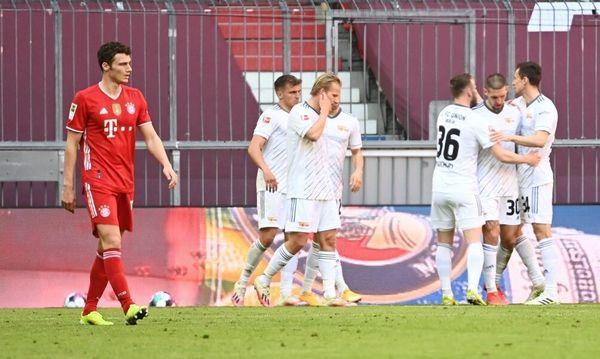 Union trotzt Bayern Remis ab - Frankfurt schlägt Wolfsburg