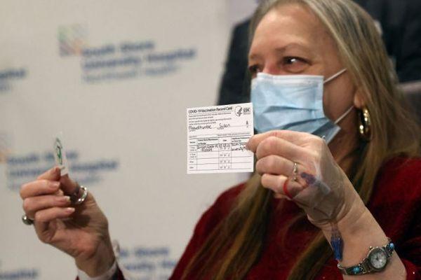 Der QR-Code für Geimpfte ruft heftige Kontroversen in den USA hervor