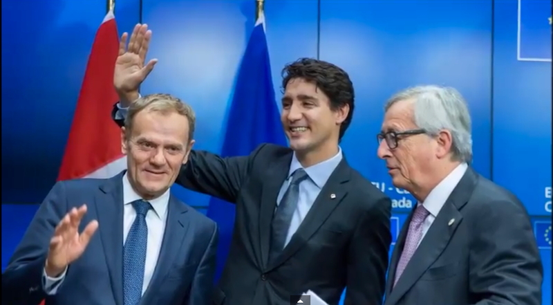 Trudeau to MEPs: Trade has to work for people