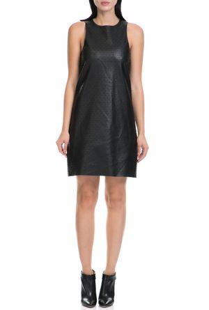 GUESS - Γυναικείο μίνι αμάνικο φόρεμα Guess μαύρο