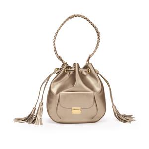 FOLLI FOLLIE - Γυναικεία τσάντα/πουγκί FOLLI FOLLIE χρυσή