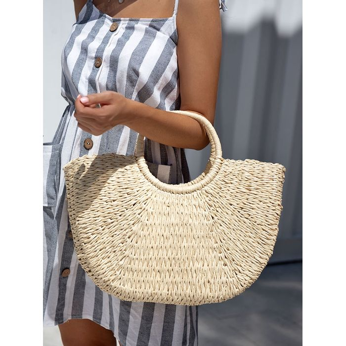SALVADOR LARGE STRAW HANDBAG