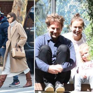 Ирина Шајк и Бредли Купер на лежерна прошетка, ги ...