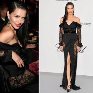 Адријана Лима во елегантен црн фустан на ...
