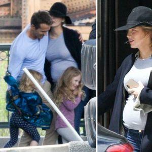 Бремената Блејк Лајвли со двете ќерки го посети ...