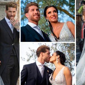 Првите свадбени фотографии на Серхио Рамос и Пилар ...