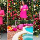Шармантна трудница: Миранда Кер во розово на забава ...