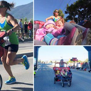 Мајка сруши Гинисов рекорд трчајќи маратон додека ...