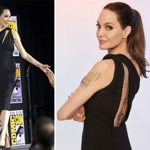 Анџелина Џоли во елегантен црн фустан ја најави ...