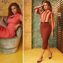 Есенската колекција на Ева Мендес за модерни дами
