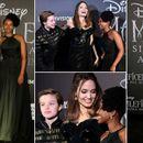 Дама во црно во Рим: Анџелина Џоли со ќерките Шајло и ...