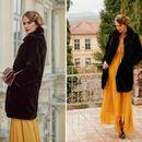 Македонска дама: Каролина Гочева во зимски стајлинг ...