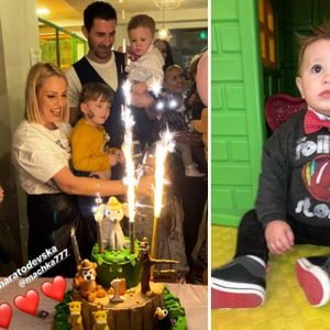 Тамара Тодевска со семејството го прослави првиот ...