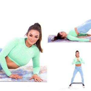 5 вежби со ластик за цврст задник од фитнес ѕвездата ...