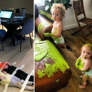 Родители преку фотографии покажуваат како е да се ...