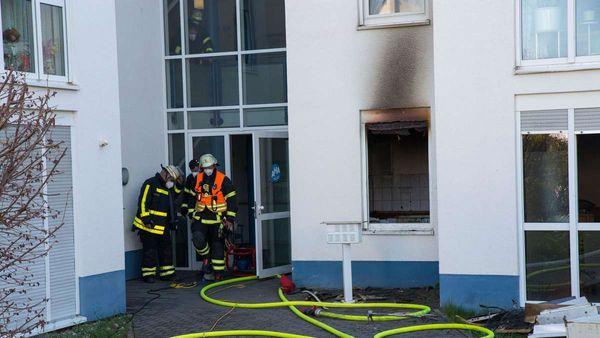Brand in Selters: Fünf Verletzte nach Feuer in Pflegeheim ‒ Rettungshubschrauber vor Ort