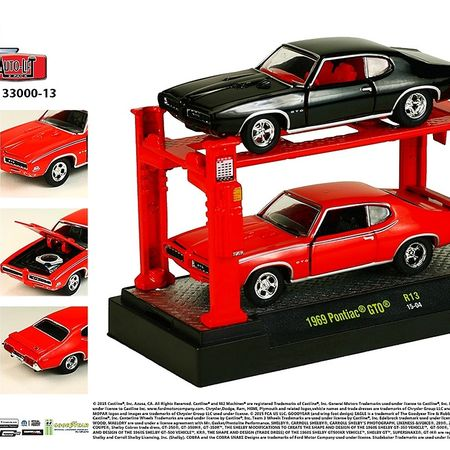 M2 Lifts - 2 Car Set. - 1969 Pontiac GTO