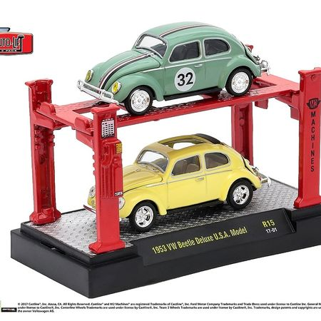 M2 Lifts - 2 Car Set. - 1953 Beetle Delux USA Model