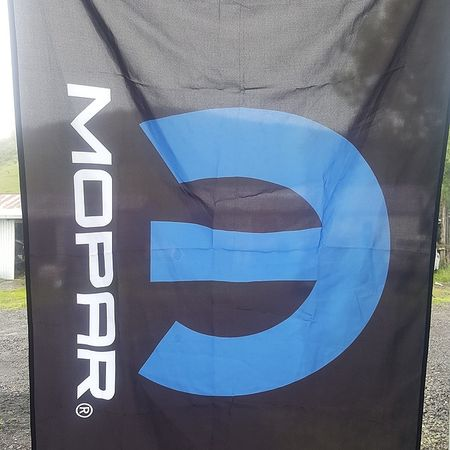 Mopar Flags - Mopar Blue