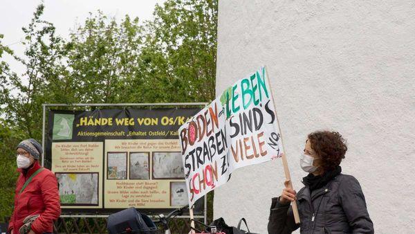 Gegner und Befürworter kämpfen ums Wiesbadener Ostfeld