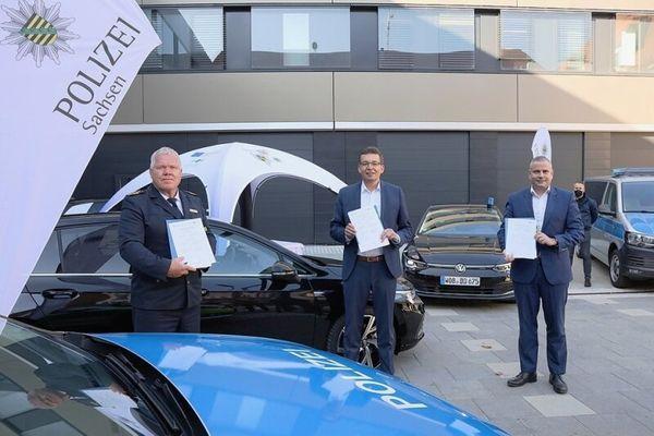 Zwickauer Polizei testet Streifenwagen der Zukunft | Freie Presse - Zwickau
