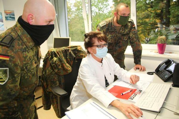 Wie sich das Gesundheitsamt in Freiberg für die vierte Welle rüstet | Freie Presse - Freiberg