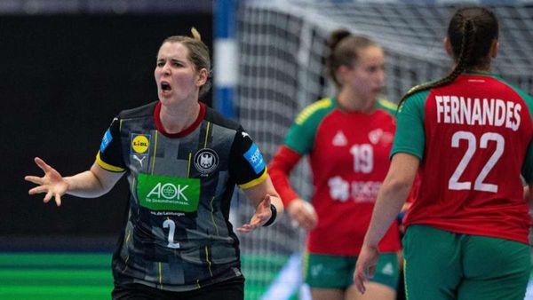 Sieg gegen Portugal: WM-Ticket für deutsche Handballerinnen