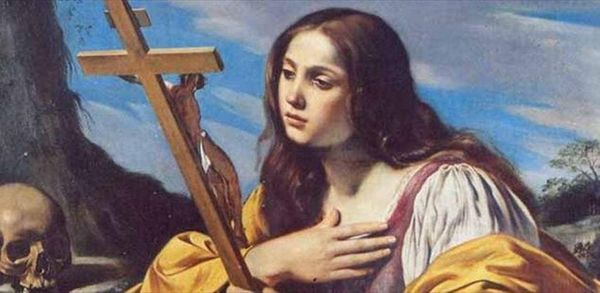 Oggi si festeggia santa Maria Maddalena
