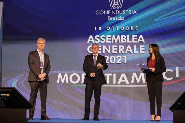 Il Pnrr al centro dell'assemblea di Confindustria Brescia thumbnail