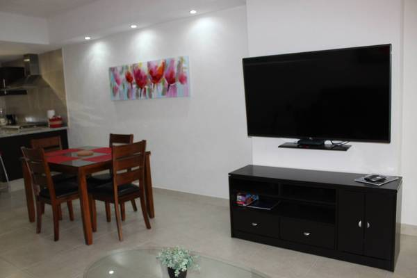 Cute and stylish condo with equipped TV