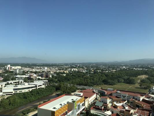 With amazing views of the Puerto Vallarta mountains where you can watch the sun rise every morning!