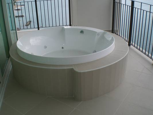 Your own private hot tub jacuzzi on the terrace by the master bedroom!