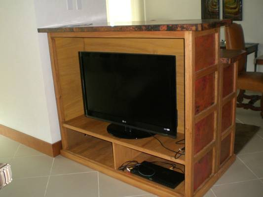 Cable TV with DVD player