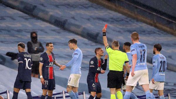 Manchester City steht im Champions-League-Finale: PSG zeigt Nerven - Rot nach Brutalo-Tritt