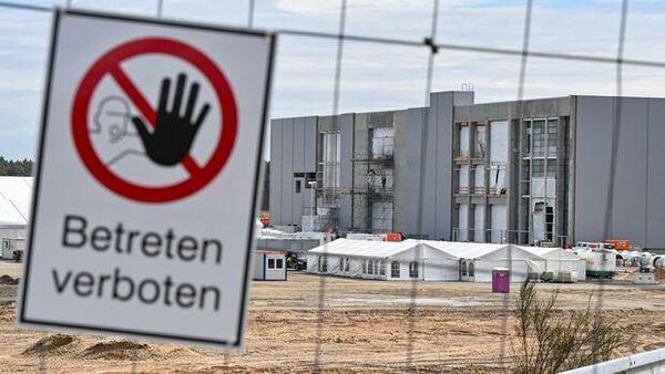 Gigafactory: Ärger für Tesla in Grünheide wegen illegaler Bauarbeiten