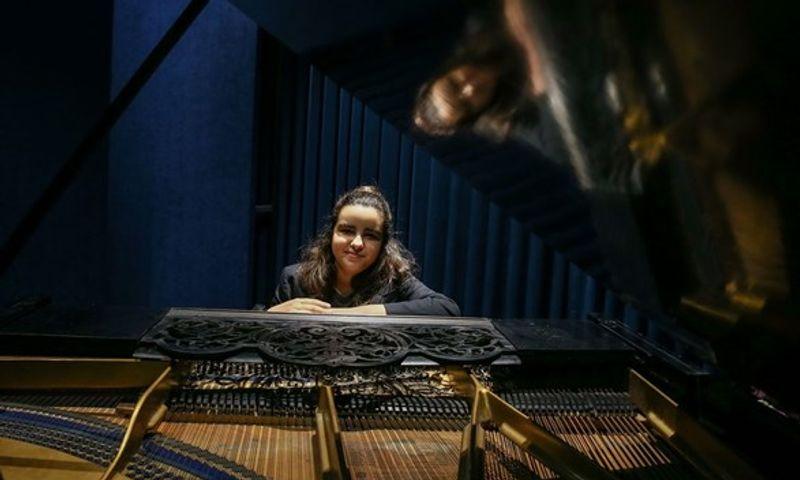 Genç solist Ege Seçer Uluslararası Müzik Festivali'nde Türkiye'ye ikincilik getirdi