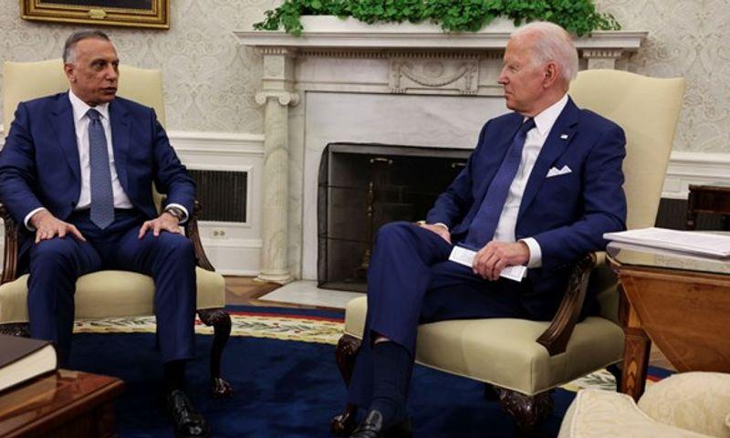 Biden, Irak'taki ABD muharip güçlerinin çekileceği tarihi açıkladı