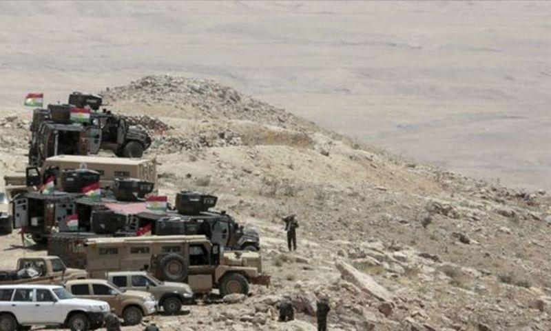 Terör örgütü PKK, Erbil'de Peşmerge güçlerine saldırdı