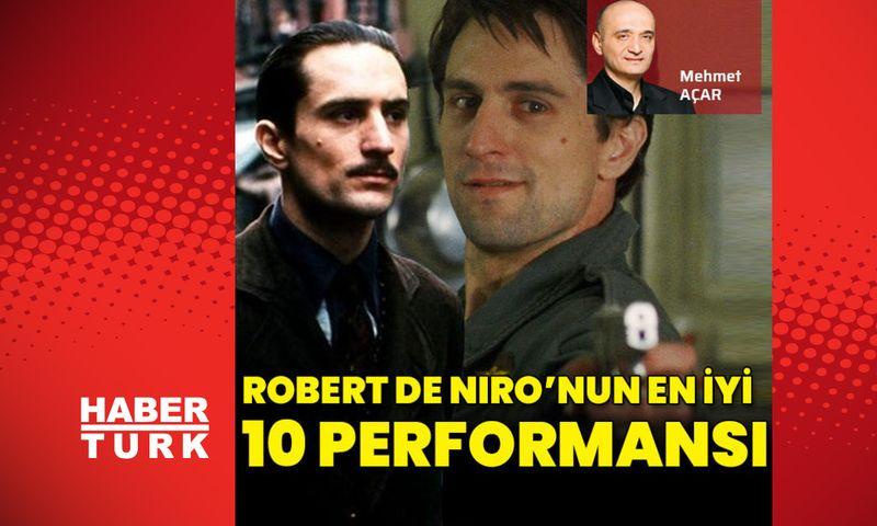 Robert De Niro'nun en iyi 10 performansı