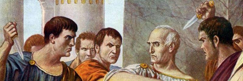 Sen de mi Brütüs?: Roma imparatorlarının yüzde 75'inden fazlası vahşice katledildi