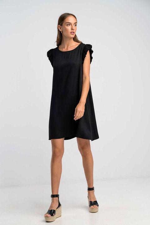 Φόρεμα με βολάν-8569