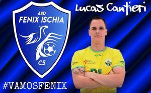 Calcio a 5, bomba di mercato in casa Fenix Ischia: arriva Lucas Cantieri