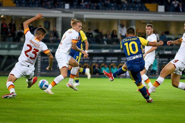 Il Verona di Tudor ferma la Roma, 3-2 al Bentegodi