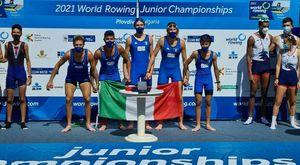 Canottaggio, ai mondiali junior 7 medaglie all'Italia: azzurri secondi come piazzamenti in finale